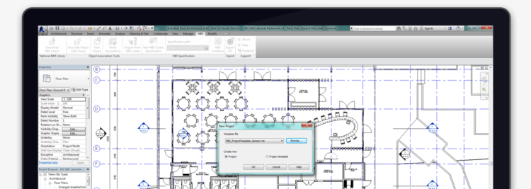 NBS Templates for Autodesk Revit