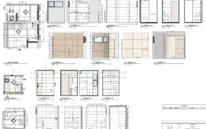 Bathroom details in Revit