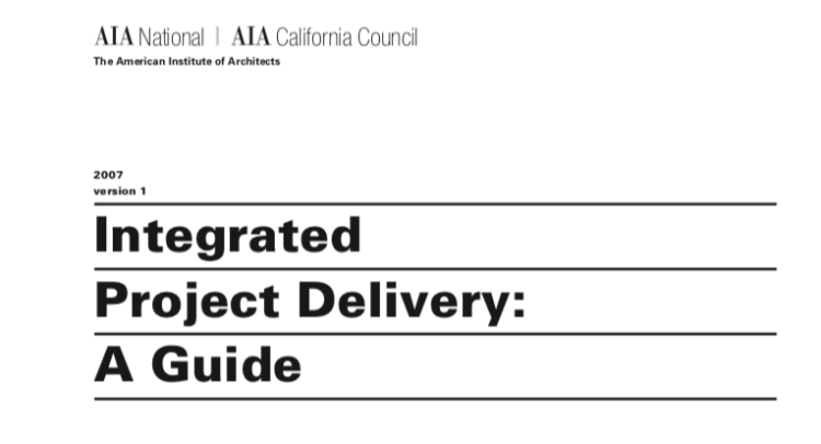 Integrated Project Delivery Guide