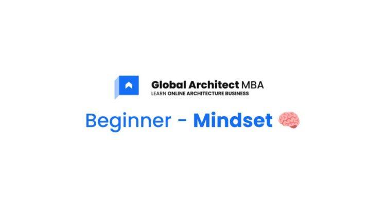 Global Architect - Thumbnails Blue Beginner Mindset